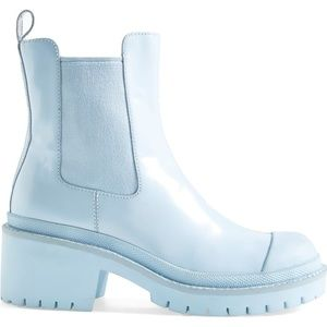 Marc by Marc Jacobs 8 Willoughby baby blue boots